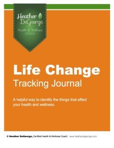 Life Change Tracking Journal
