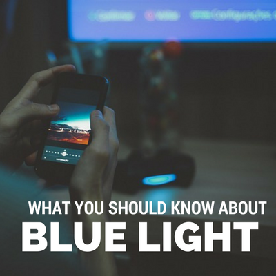 What you need to know about blue-spectrum light